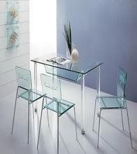 elegant custom design semitransparent acrylic big square table for decorate factory supplier