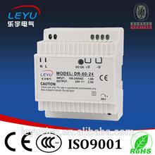 60w 12v din rail ac automatic 12v voltage regulator power supply din power 12v