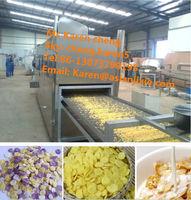 corn flake making machine/corn flakes production process