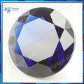 venta al por mayor 19mm alibaba proveedor de china sexy de piedra de cristal brillante redondo de zafiro azul de vidrio de color ámbar de polonia