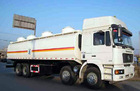 8*4 SHACMAN oil/fuel tank truck