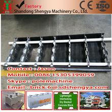 Foam concrete block production line/Cement foam brick mould/ Foamed concrete block machine/Foam Concrete Bricks Mould
