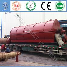 Energy saving High profits 10 ton waste tyres recycling machine