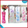 PE vase/plastic clear plastic vases for centerpieces