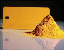 Yellow Hybird Powder Coatings Paint