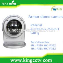 PAL/NTSC ATW / AWC switchable ir small dome CCTV camera HK-JA310