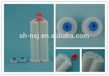 50ml 1:1 dental cartridge, plastic empty cartridge, epoxy dual cartridge