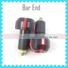 CNC RED Bar End Handle Plugs Universal handle bar end for HONDA