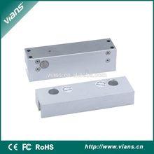 Standard zinc alloy hot fashion high security narrow sliding door electric drop bolt lock