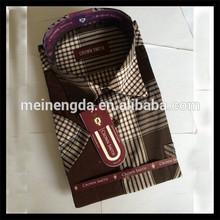 2014 New fashion Eco-Friendly charming men silk shirts long sleeve made in China