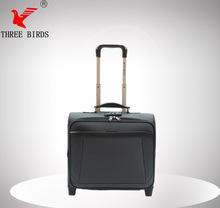 Carry-on polyester airport luggage cart, high quality ormi luggage, heys luggage- made in china