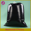 customized printed drawstring HDPE&LDPE plastic garbage/trash bags