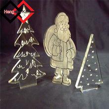 fashionable design led acrylic Christmas ornament for gift