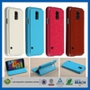 Popular Mobile Phone flip pu leather case for samsung galaxy s5