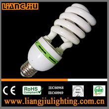 made in guangzhou 26w half spiral energy saving light bulbs