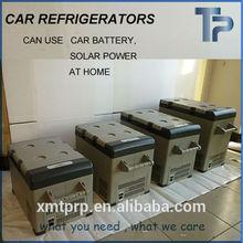 solar power dc 24v 12v car fridge freezer