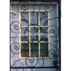 steel wrought iron window grill design