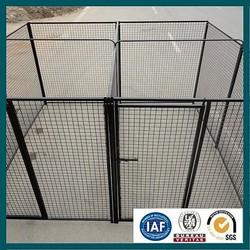 large dog runs/iron steel dog kennel