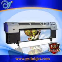 Hot!!! 3.2m Flora roll to roll uv printer