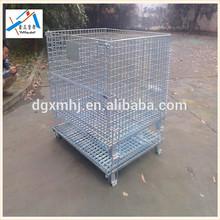 Industrial welded steel Wire mesh zinc containers