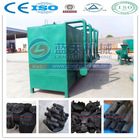 Gas flow wood charcoal carbonization furnace sawdust carbonization stove