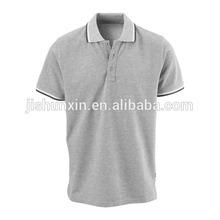2014 china manufacturer, alibaba online shopping clothes, wholesale grey gentle men polo t shirt, plain cotton t shirt