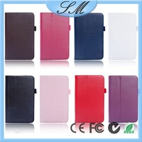 stand leather case for samsung tab 3 p3200