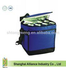 600D Polyester durable Shoulder Strap ice bag Lunch Cooler Bag
