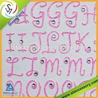 2013 design embellishment 3d stickers letters scrapbooking