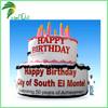 China's New Market Giant Inflatable Birthday Cake Decoration