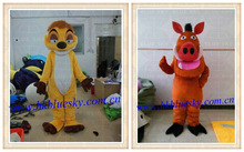 Adult fur the Lion King Timon&Pumba costumes