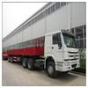cargo trailer truck, cement bag truck trailer, lorry truck trailer