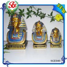 SGE040 Tutankhamun Mask Head Ancient Egyptian Statue