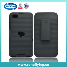 New arrival mobile phone accessory holster combo cover for blackberry z30