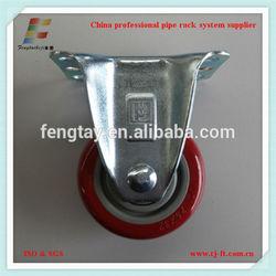 rubber polyurethane caster swivel caster wheels