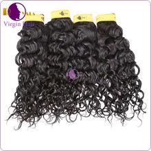 Wholesale grade 5A natural wave brazilian hair 18 inch red hair extensions brazilian hair extensions two tone