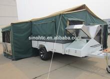 2014 new design tent camper trailer Australia Standard, offroad camper trailer, hard floor camper trailer