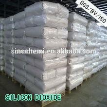 blanco polvo de dióxido de silicio coloidal msds