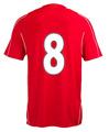 famoso clube da equipe mais recente de impressão número camisa de futebol da tailândia