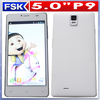 High quality MTK6572 dual core android dual sim card samrt phone android mobile phone unlocked cell phone
