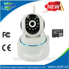 P-702 New 355degree 720P wireless P2P ip camera with PTZ baby monitor camera baby video monitor