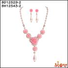 Great fantastic elegant faux pearl necklace set