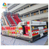 inflatable fire truck slide design for sale
