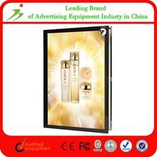 Aluminum Frame Acrylic Led Magnetic Light Box Pictures