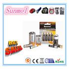 Alkaline batteries AA,AAA,C,D,9V, CE/RoHs approval