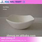 Beautiful mini white porcelain plate