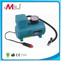 portable car tire inflator pump plastic air compressor, air pump tire inflator