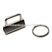 Fashion High Quality Metal Split Ring 32mm Key FOB Hardware