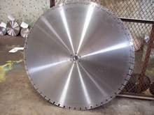 """high-frequency welding Dia 39""""/1000mm diamond concrete saw blade with 70pcs segments"""