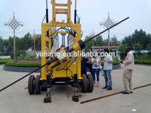2014 meilleur forage! Yh-3 300 m, 500 m, 600 m tracteur béton utilisé cnc forage et machine à tarauder